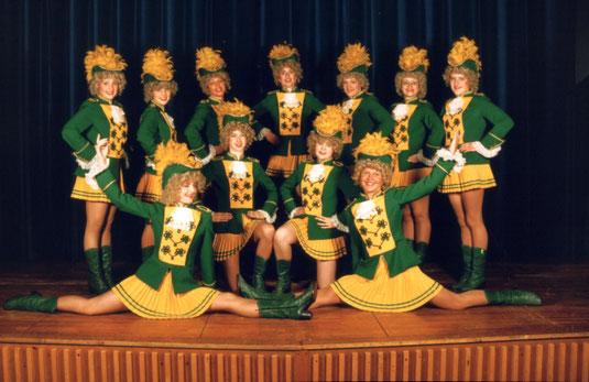 Tanzgruppe 1985