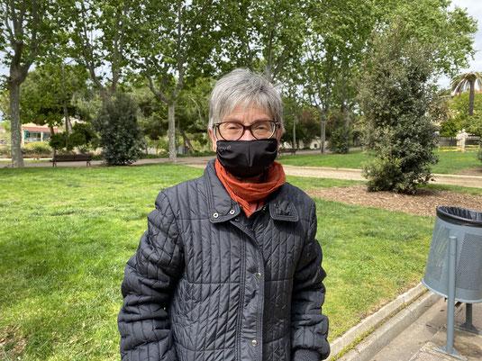 Montserrat Torruella, presidenta d'Inter-SOS, la primera associació de l'Estat de familiars de persones desaparegudes sense causa aparent. Foto: Pol Baraza.