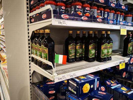 Italienisches Olivenöl bei Coop in Sempach?