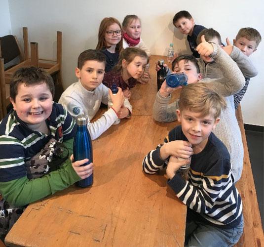 Kommunionkinder unserer Gemeinde St. Josef, Foto:  A. Staring