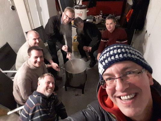 Grünkohl von den Männern vom Kochkreis