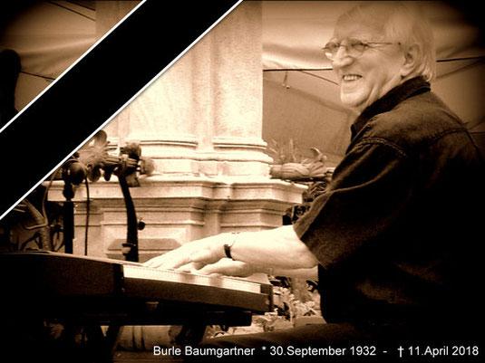 Burle Baumgartner Adolf Burli Rankweil Klavier Piano Val Reno Jazzband dietmar pfanner