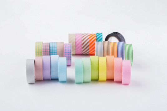 Washi Tape Pastel und Muster von mt masking tape