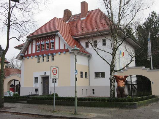 Has des Maler- und Lackiererhandwerks in Berlin-Steglitz