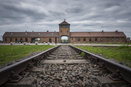 Konzentrationslager Auschwitz [ Oświęcim ] in Polen