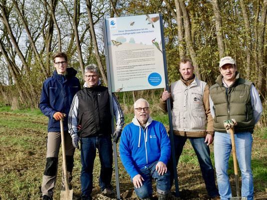 v. l. n. r.: Philipp Sagstetter, Stefan Günzel, Klaus Sanzenbacher, Martin Günzel, Harald Broller (Foto: Klaus Sanzenbacher)