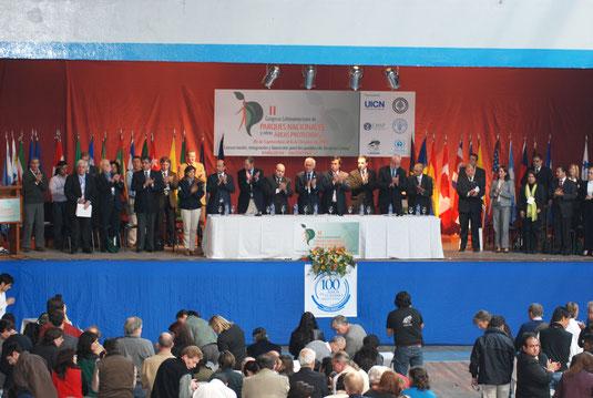 II Congreso Latinoamericano de Parques Nacionales y otras Áreas Protegidas. Bariloche, Argentina, 2007 © Roberto Ariano - UICN
