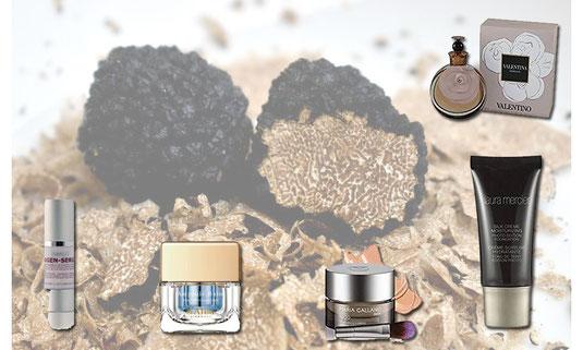 Trüffelkosmetik - Produkte mit echten Trüffel Trüffeln in Kosmetik ist eine neue Zutat, sie soll den Alterungsprozess umkehren