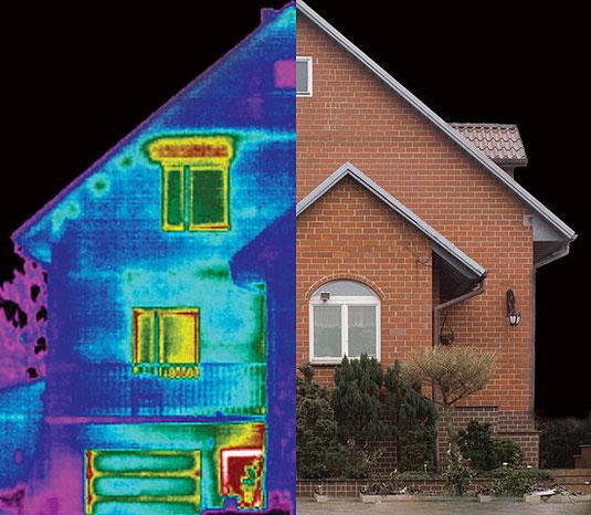 Prontopro, termografia casa, dispersioni termiche, reamodena, cappotto termico, muffa, noi la vediamo così,
