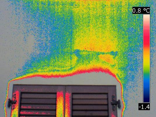 cappotto fatto male, dispersioni termiche perizie termografiche