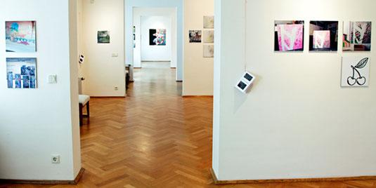 Blick in die Ausstellung, Städtisches Museum Eisenhüttenstadt