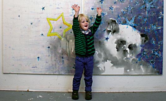Matteo und sein Bild von Pandi, Akademie der Künste, Berlin