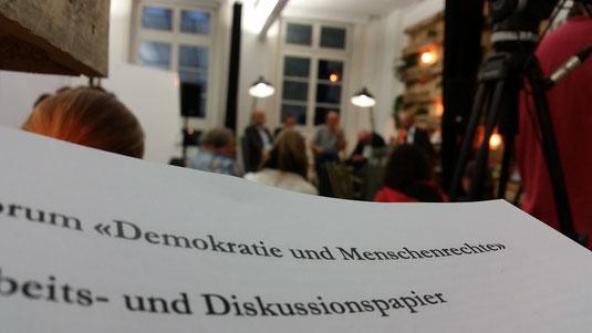 Diskussion Demokratie und Menschenrechte