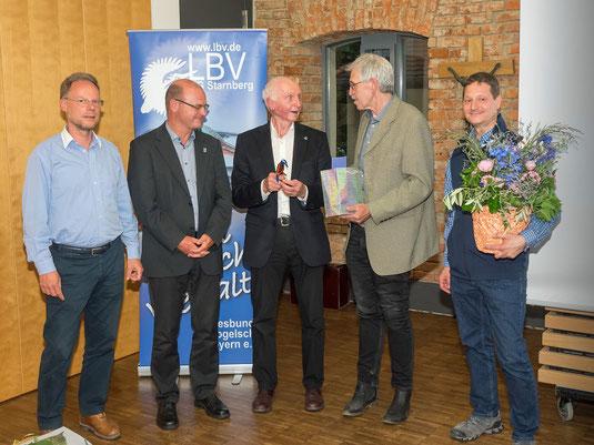 Matthias Luy, Dr. Norbert Schäffer, Horst Guckelsberger, Stefan Schilling, Franz Wimmer (Foto: Oliver Wittig)