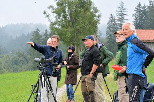 Erläuterungen von Markus Gerum (Foto: Christiane Hesel)