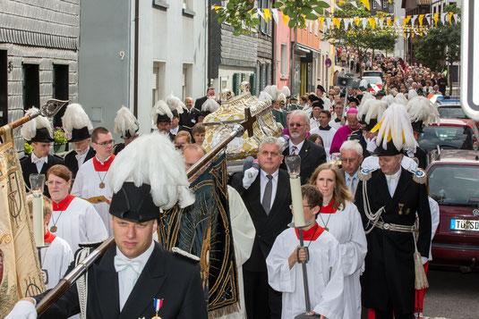 Ludgerus-Prozession in Werden. Foto: Achim Pohl | Bistum Essen
