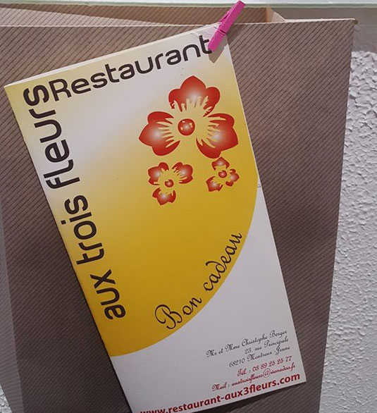 Coffret Cadeau Restaurant Aux Trois Fleurs A Montreux Jeune