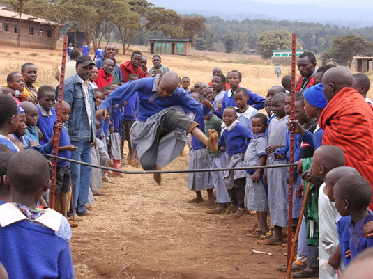 Sporttag an der Imurtot Primary School