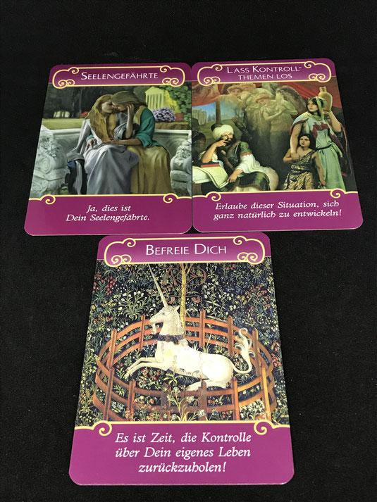 Das Engel der Liebe Orakel von Doreen Virtue auf Phönixzauber