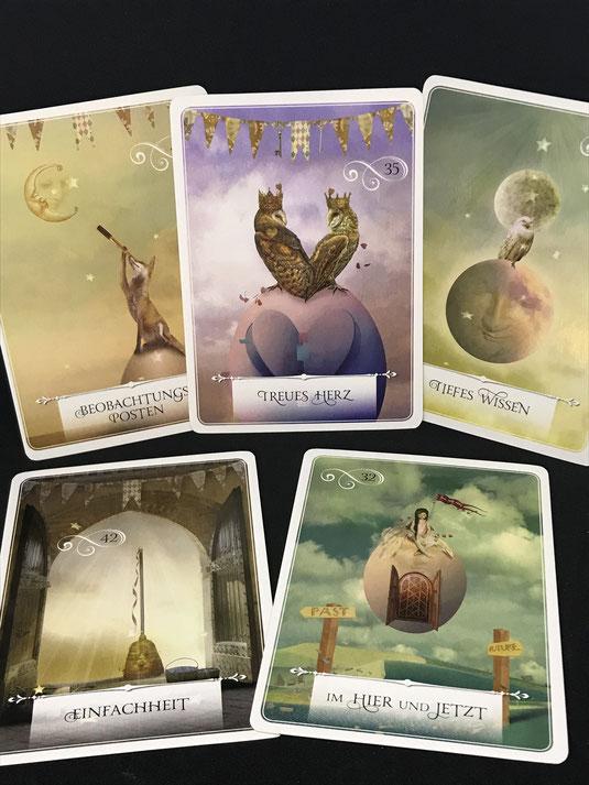 Weisheitskarten für Lebensentscheidungen von Colette Baron Reid auf Phönixzauber