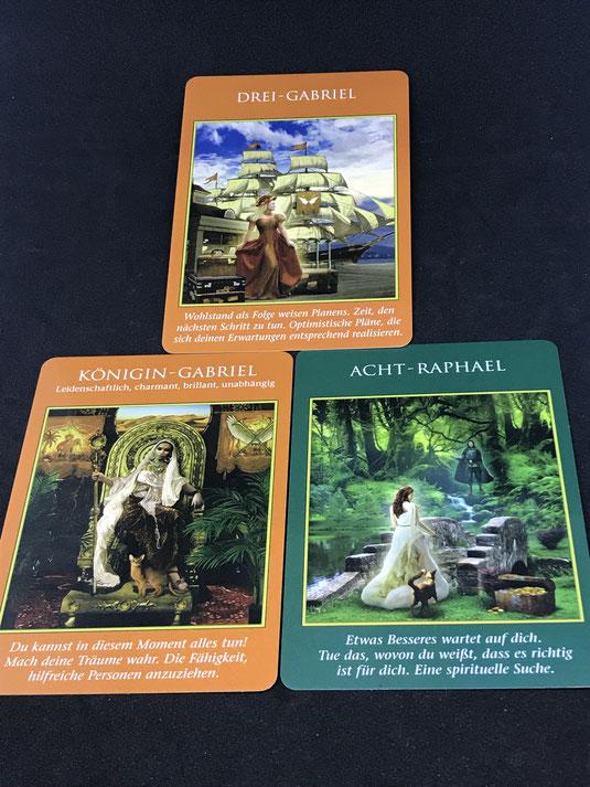 Das Erzengel Tarot von Doreen Virtue auf Phönixzauber - kostenlose Tagesbotschaft