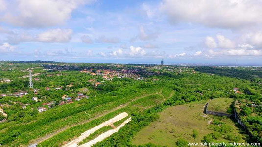Land for sale in the Bukit area.