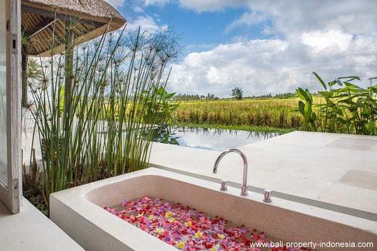 South Ubud villa for sale including a rental license and management