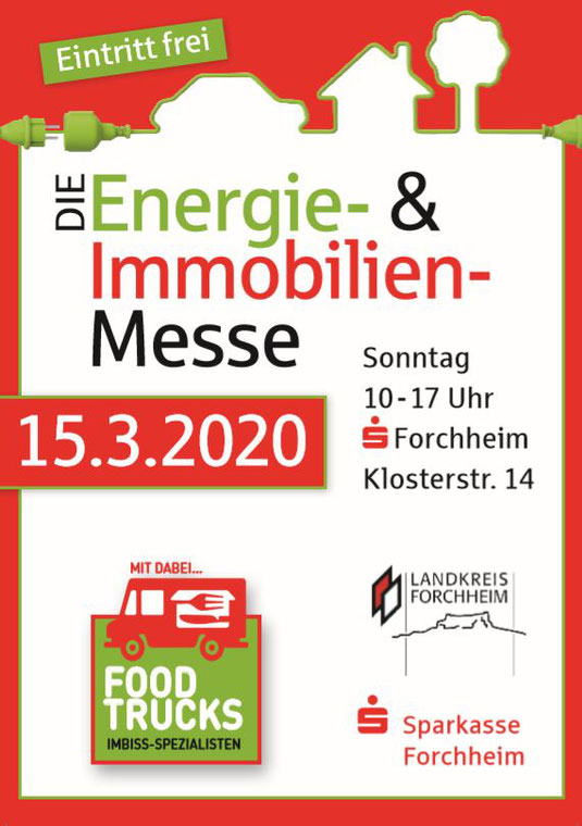 Energie- und Immobilienmesse Forchheim 15.03.2020