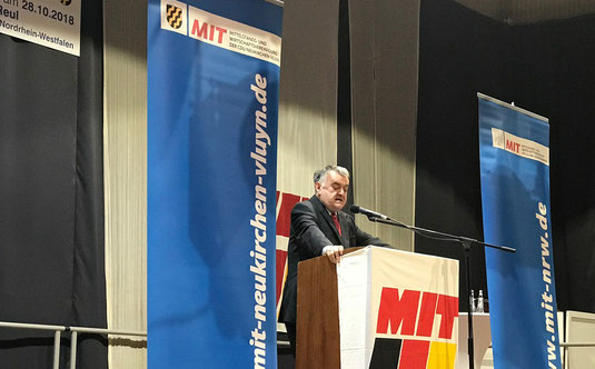 17. Politisches Frühstück 2018 mit Herbert Reul, Minister des Inneren des Landes NRW