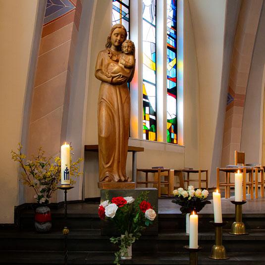 Madonna in der Kirche St. Raphael, Duisburg-Bissingheim