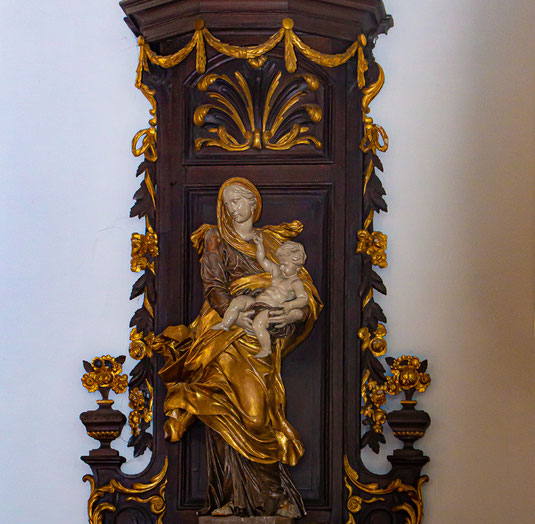 Madonna in der Kirche St. Hubertus, Duisburg-Rahm