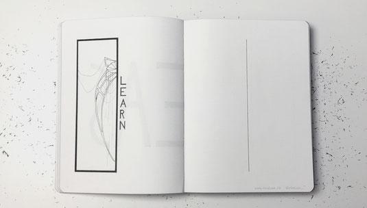 image: nina luca, ninaluca, minimalism bullet journal, minimalist bullet journal, minimalism bujo, minimalist bujo, nuuna notebook, Bujo List inspiration, Bujo list ideas, bujo list layout,