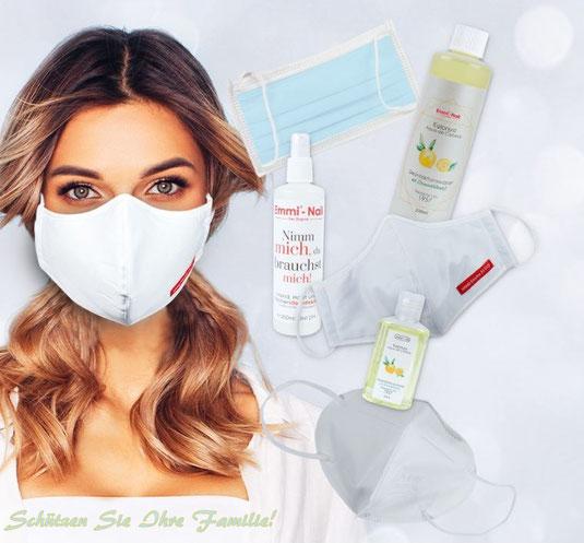 hygieneprodukte masken mundschutz nassenschutz desinfektion desinfektionsmittel emmi dent ultrasonic emmi-ultrasonic