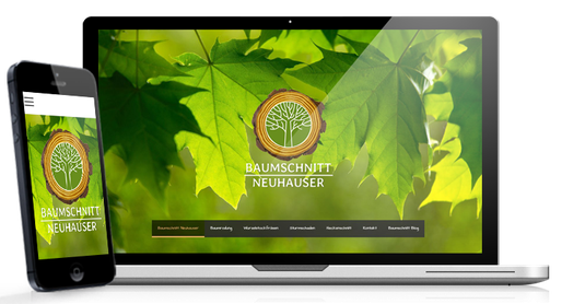 corporate design baumschnitt neuhauser