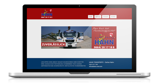 hahn kran webdesign