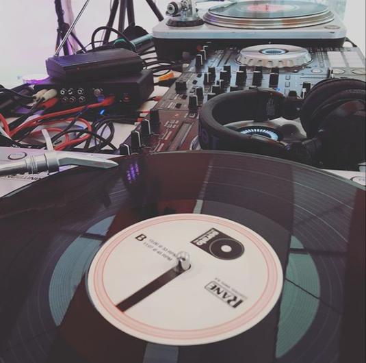 Plattenspieler DJ Setup