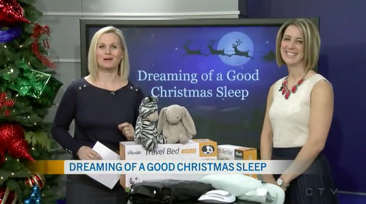 Erin Junker, Founder of The Happy Sleep Company, talks to CTV Morning Live's Annette Goerner about holiday sleep tips!