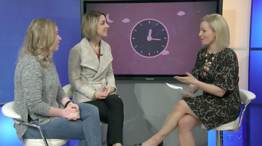 Erin Junker, Professional Infant & Toddler Sleep Consultant, and Erica Fraser, found of Mom Break, speak with Annette Goerner of CTV Morning Live about when and why parents hire a sleep coach.