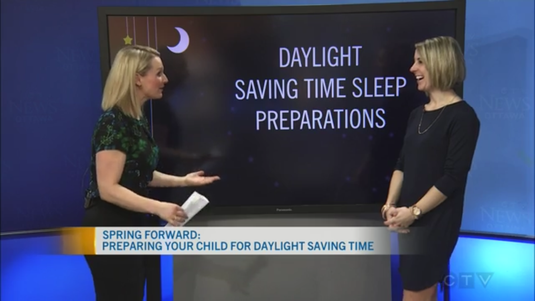 If the upcoming time change still has you a bit nervous about disruptions in your child's sleep schedule, here are some strategies that Erin shared with CTV Morning Live!