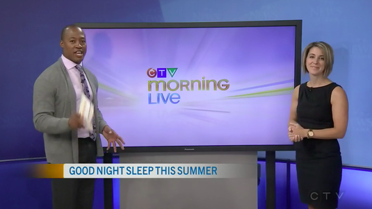 Erin Junker speaks with Henry Burris of CTV Morning Live about summer sleep schedules for kids!