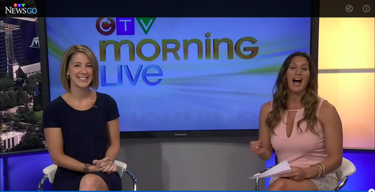 Erin Junker, Infant & Toddler Sleep Consultant and Owner of The Happy Sleep Company, chats with Lianne Laing of CTV Morning Live Ottawa about getting great sleep for your little ones while camping this summer!