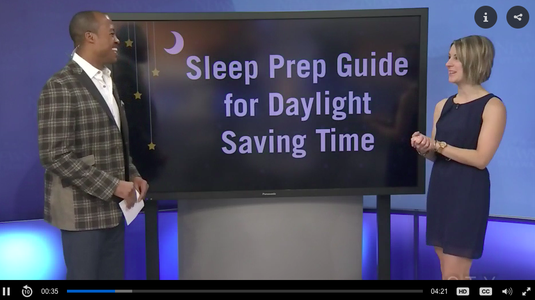 Erin Junker, Professional Infant & Toddler Sleep Consultant and Owner of The Happy Sleep Company, chats with Henry Burris of CTV Morning Live Ottawa about how to make sleep adjustments for children during Daylight Savings Time.