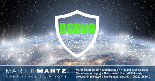 Aktueller Datenschutz in Deutschland / Datenschutzgrundverordnung & Datenschutzrecht in Unternehmen / Martin Mantz GmbH in Grosswallstadt und Leipzig / Hessisches Europanetzwerk informiert sich über die DSGVO