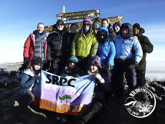 SRPC Kilimanjaro Team - 2011