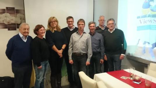 Vertreter der Inzigkofer Bürgerinitiative besuchen die Sigmaringer CDU. Foto: Klaus Reimann