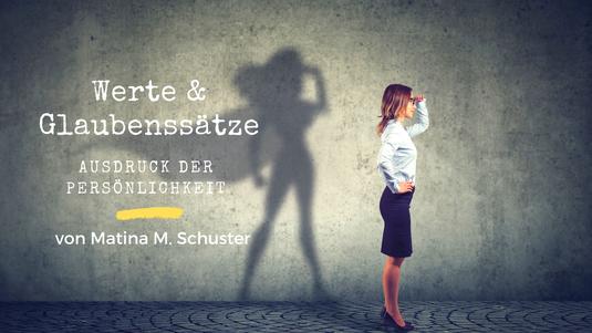 Werte und Glaubenssätze - Ausdruck der Persönlichkeit. Blogartikel von Martina M. Schuster, ConAquila Coaching Akademie. Bildquelle: Canova
