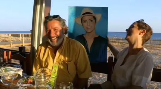 Diner en compagnie de Sophie Jovillard et remise de son portrait