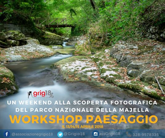 workshop fotografia nel parco della Majella