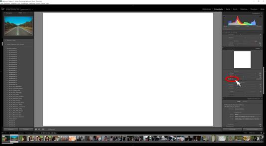 """Klicken Sie mit dem Mauszeiger auf den Regler Maskieren und gleichzeitig die Taste """"ALT"""" auf der Tastatur.  Es erscheint ein völlig weißes Bild (dies kann nur in meinem Fall so sei, dass das Bild weiß ist). Das bedeutet, dass das komplette Bild in diesem"""