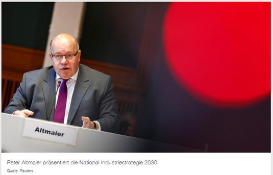 13.04.2019 - ZDF: Umstrittene Lieferung - Altmaier verteidigt Rüstungsexport an Saudis